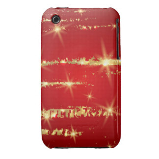 christmas pattern,red,gold,abstract,xmas,holidays, Case-Mate iPhone 3 case
