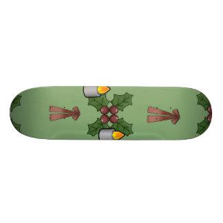 christmas pattern skate decks