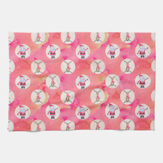 Christmas Pattern Tea Towel