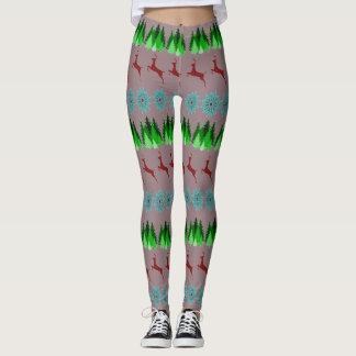 Christmas Patterned Leggings