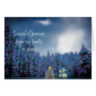"""Christmas Peace"" Greeting Card"