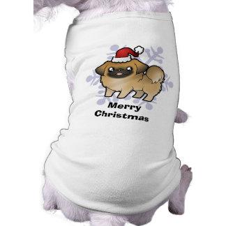 Christmas Pekingese (puppy cut) Shirt