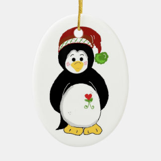 Christmas Penguin Christmas Ornament