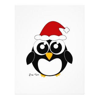 Christmas Penguin Full Color Flyer
