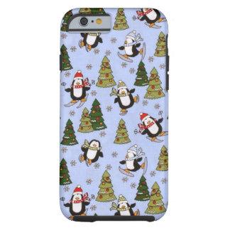 Christmas penguin iPhone 6 tough case