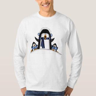 Christmas Penguin Mens Holiday t-shirt