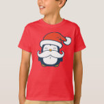 Christmas Penguin Moustache Trend T-Shirt