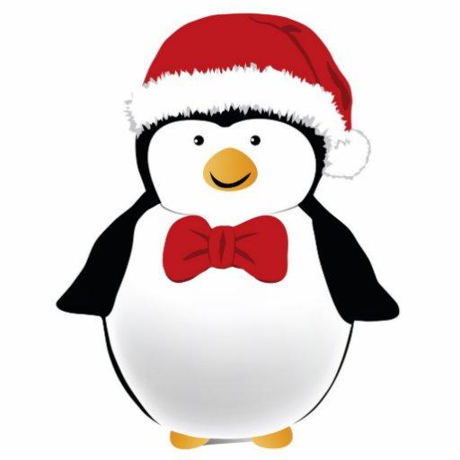 Christmas penguin cut out