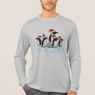 Christmas Penguin Party T Shirt