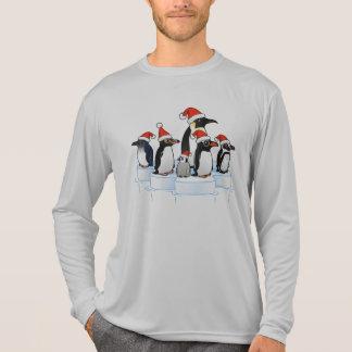 Christmas Penguin Party T Shirt