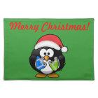 Christmas Penguin Placemat