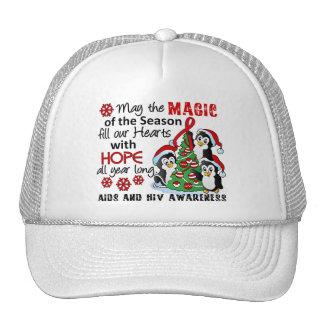 Christmas Penguins AIDS HIV Trucker Hat