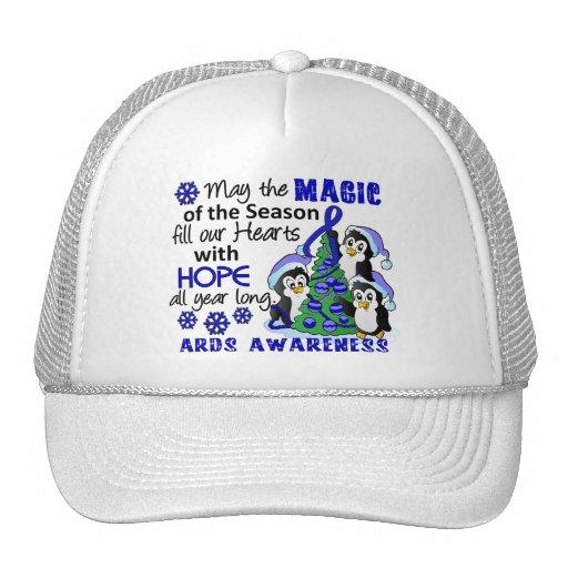 Christmas Penguins ARDS Mesh Hats