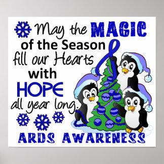 Christmas Penguins ARDS Print