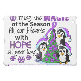 Christmas Penguins Cystic Fibrosis iPad Mini Case