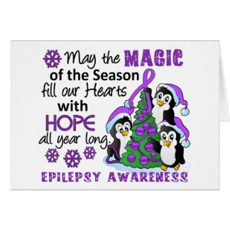 Christmas Penguins Epilepsy Cards