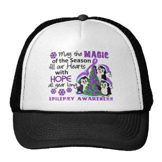 Christmas Penguins Epilepsy Hat
