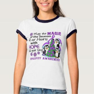 Christmas Penguins Epilepsy T-shirt
