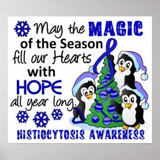 Christmas Penguins Histiocytosis Print