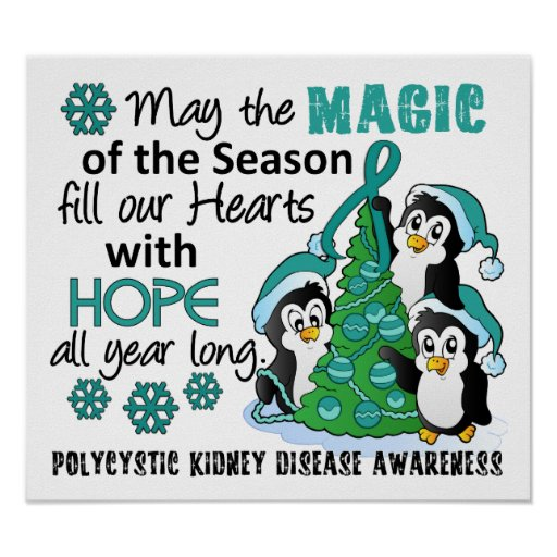Christmas Penguins PKD Posters