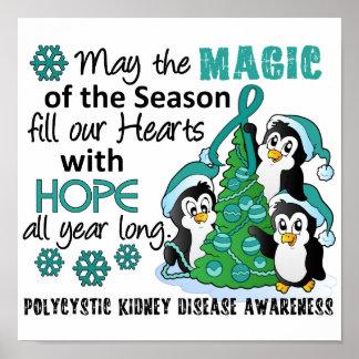 Christmas Penguins PKD Poster