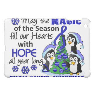 Christmas Penguins Rectal Cancer iPad Mini Covers