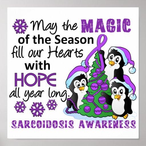 Christmas Penguins Sarcoidosis Print