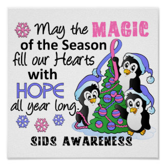 Christmas Penguins SIDS Posters