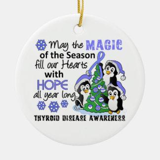 Christmas Penguins Thyroid Disease Christmas Tree Ornament