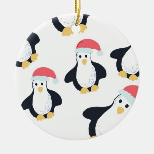 Christmas Penguins Tree Decoration