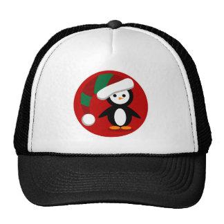 Christmas Penquin Cap