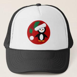Christmas Penquin Trucker Hat