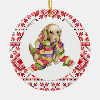 christmas pet dog animals labrador decoration