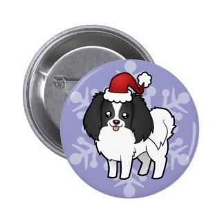 Christmas Phalene / Japanese Chin Buttons