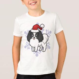 Christmas Phalene / Japanese Chin T-Shirt