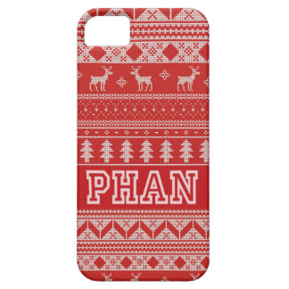 Christmas PHAN Pattern Case For The iPhone 5
