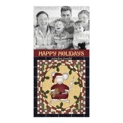 Christmas Photo Card - Mouse