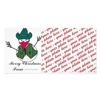 Christmas Photo Card or Photo Gift Tag
