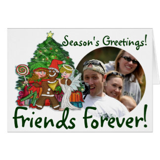 Christmas photo cards for friends