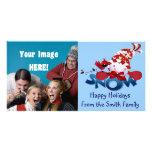 Christmas Photo Cards - Snowmen