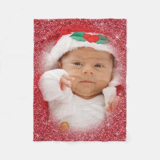 Christmas Photo Fleece Blanket