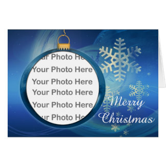 Christmas Photo Frame Greeting Card