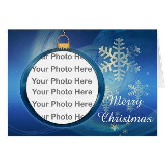 Christmas Photo Frame Greeting Card