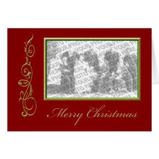 Christmas Photo Frame Greeting Greeting Card
