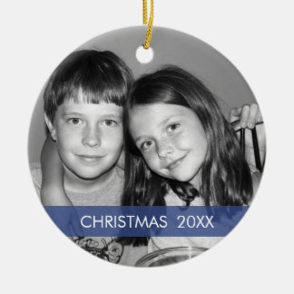 Christmas Photo Frame - Modern Christmas Ornament