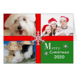 Christmas Photo Greeting Card - Multiple Photos