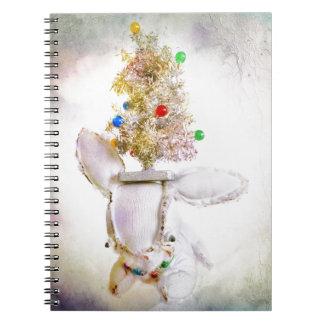 Christmas Photo Holiday Greeting Card Notebooks