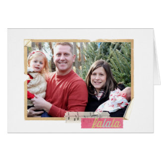 Christmas Photo old frame Greeting Cards
