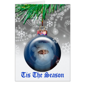 Christmas Photo Template Holiday Greeting Card