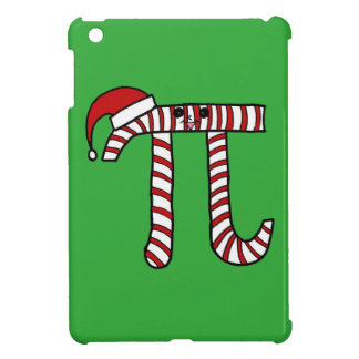 Christmas Pi Cartoon Character (Red) Cover For The iPad Mini